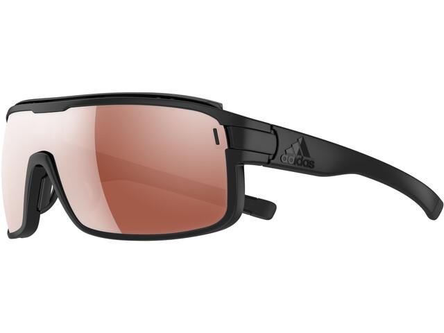 adidas Zonyk Aero Pro Glasses S black matt/lst vario purple